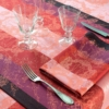 ガルニエ・ティエボーテーブルランナー パラスルビーのコーディネート