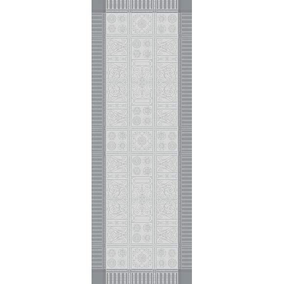 ガルニエ・ティエボーテーブルランナー チュイルリーシルバー