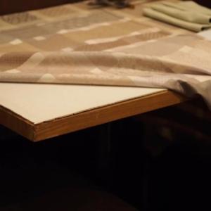 テーブルプロテクター エコゴム使用例