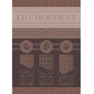 ガルニエ・ティエボーキッチンクロス チョコレートカカオ