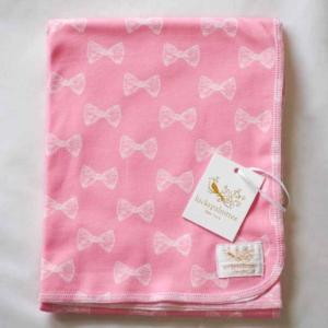 おくるみ ブランケット Pink Bow