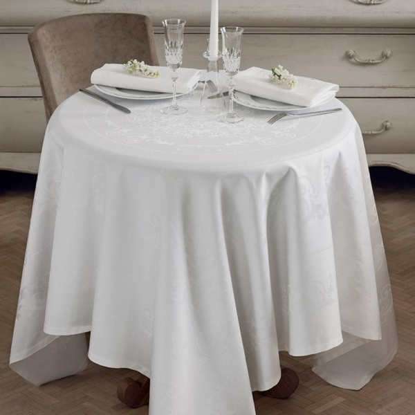 ガルニエ・ティエボー テーブルクロス コンテスホワイト