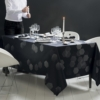 ガルニエ・ティエボー テーブルクロス ミルエタンセル シルバー