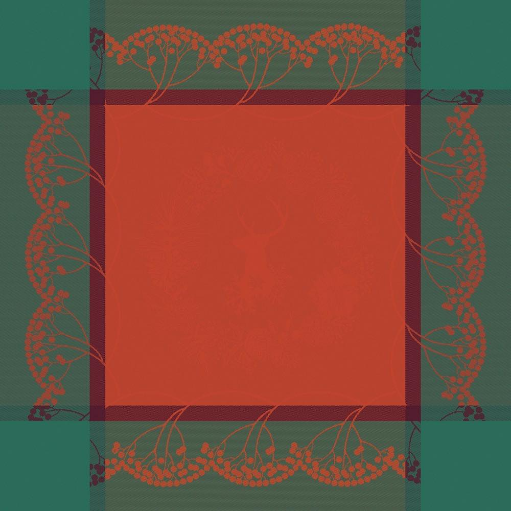 serviette-christmas-forest-red