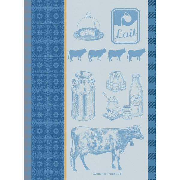 ガルニエ・ティエボー キッチンタオル ミルク