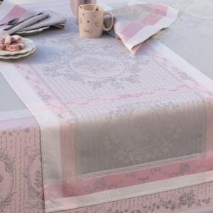 ガルニエ・ティエボー テーブルランナー  ピンク