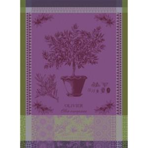 オリーブの木 パルム キッチンタオル ガルニエ・ティエボー