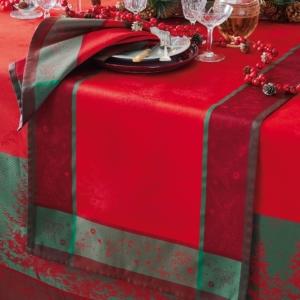 ガルニエ・ティエボー ノエルエトワール ルージュ クリスマス テーブルランナー